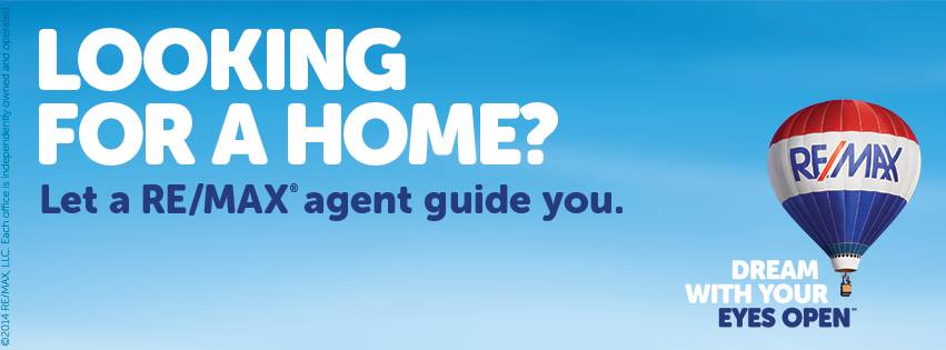 Looking for a home? Let a RE/MAX Agent guide  you.