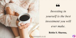 Invest in yourself quote