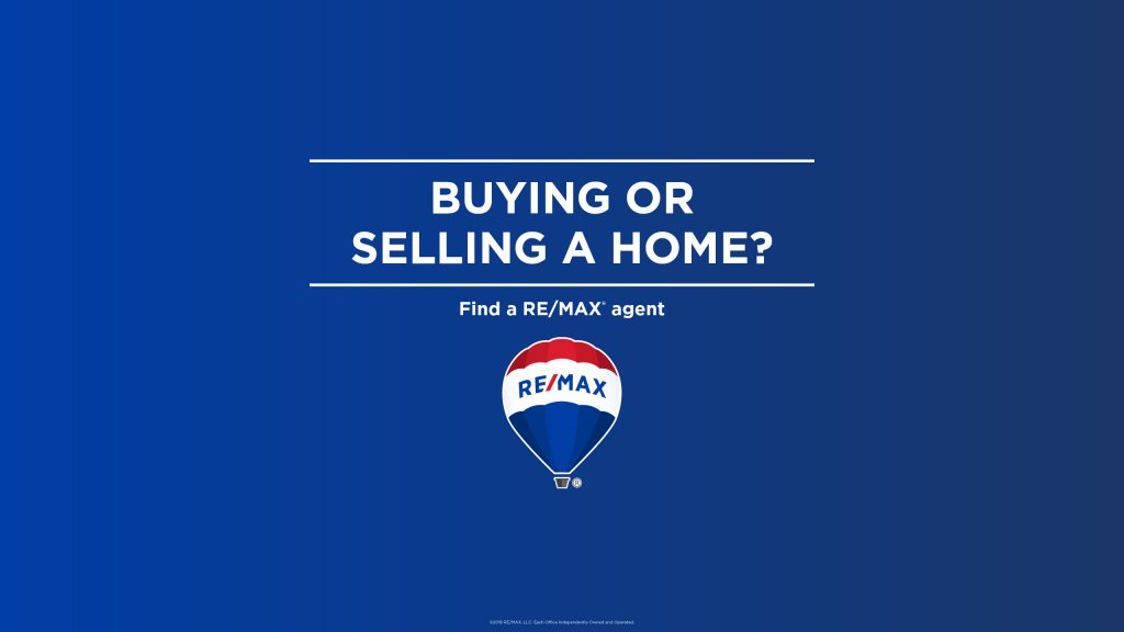 Buying or selling a home? Find a REMAX agent